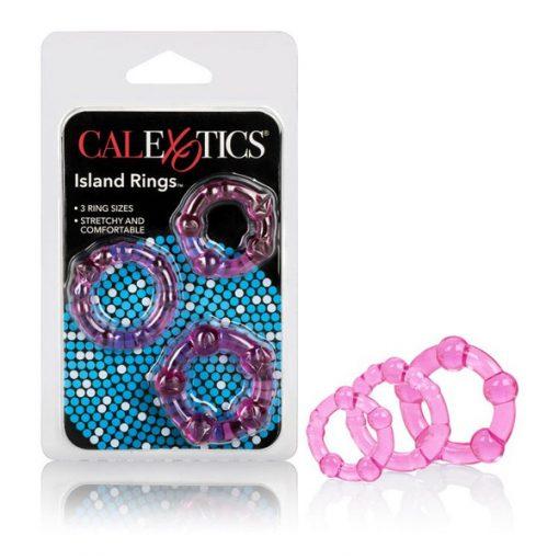 CalExotics Island Rings 3pk-0
