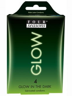 Four Seasons Glow Condoms 4pk-0