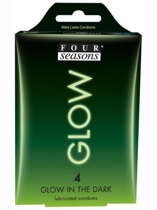 Four Seasons Glow Condoms 4pk-0