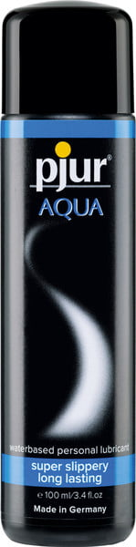 Pjur Aqua Waterbased Lubricant 100ml-0