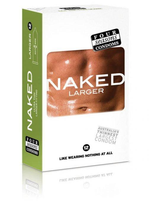Four Seasons Naked Larger Condoms 12pk-0