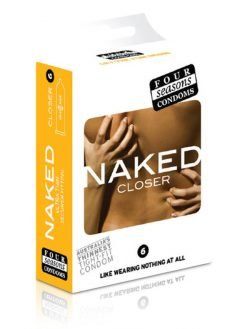 Four Seasons Naked Closer Condoms 6pk-0