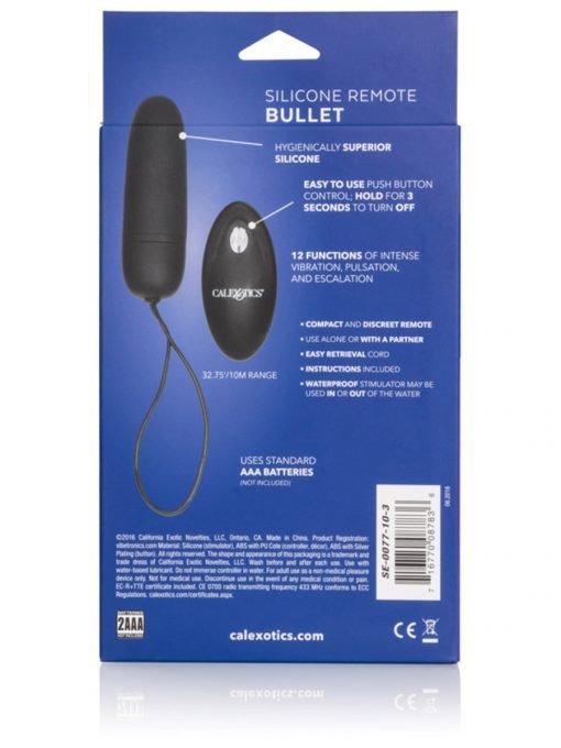 CalExotics Silicone Remote Bullet-4040