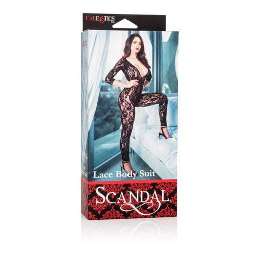 Scandal Lace Bodysuit-316
