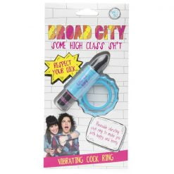 Broad City Respect Your Dick Vibrating Cock Ring-0