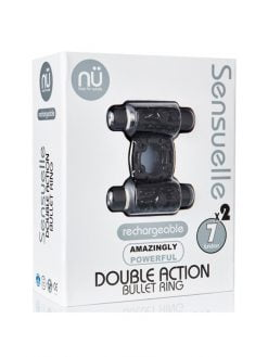 Sensuelle Double Action Bullet Ring-0