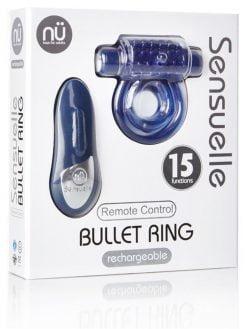 Sensuelle Rechargeable Remote Bullet Ring-0