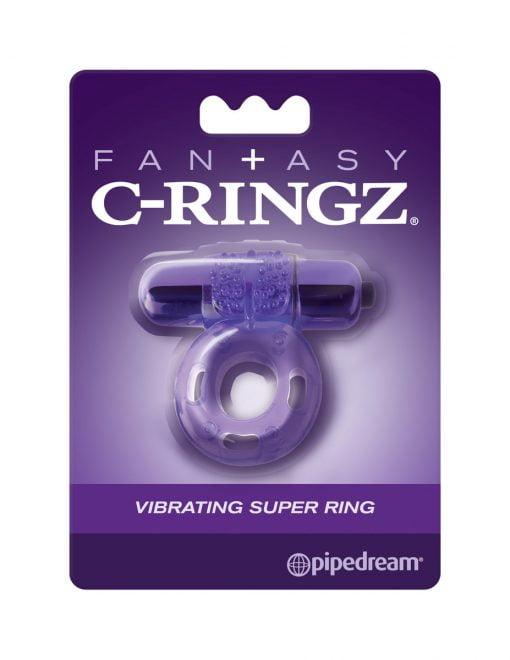 Fan+asy C-Ringz Vibrating Super Ring-0