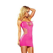 Lapdance Cash Cage Mini Dress-6216