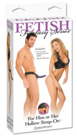 Fetish Fantasy For Him or Her Hollow Strap-On-0