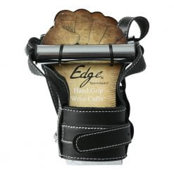 Edge Leather Hand Grip Wrist Cuffs-0