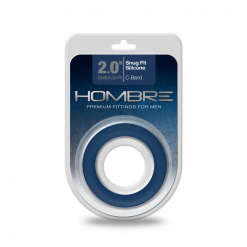 Hombre 2.0 Inch Snug Fit Silicone C-Band-10294