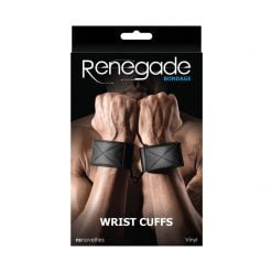 Renegade Bondage Wrist Cuffs-0