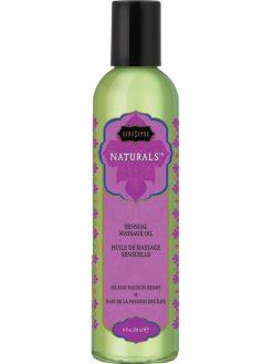 KamaSutra Massage Oil 236ml Island Passion Berry-0