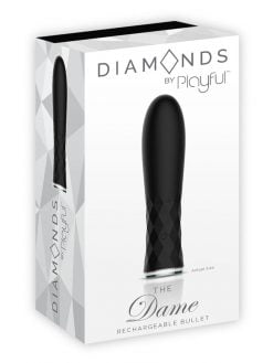 Diamonds The Dame Rechargeable Bullet-12620